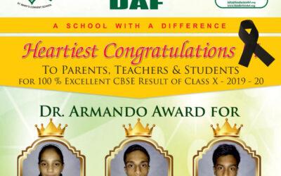 Alumnos premiados por DAF