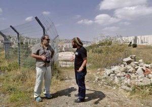 Armando en Palestina-Har Homa