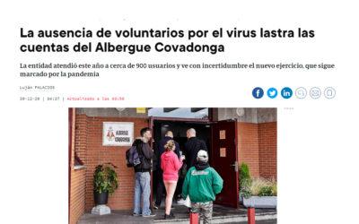 DONACIÓN DE DAF AL ALBERGUE COVADONGA