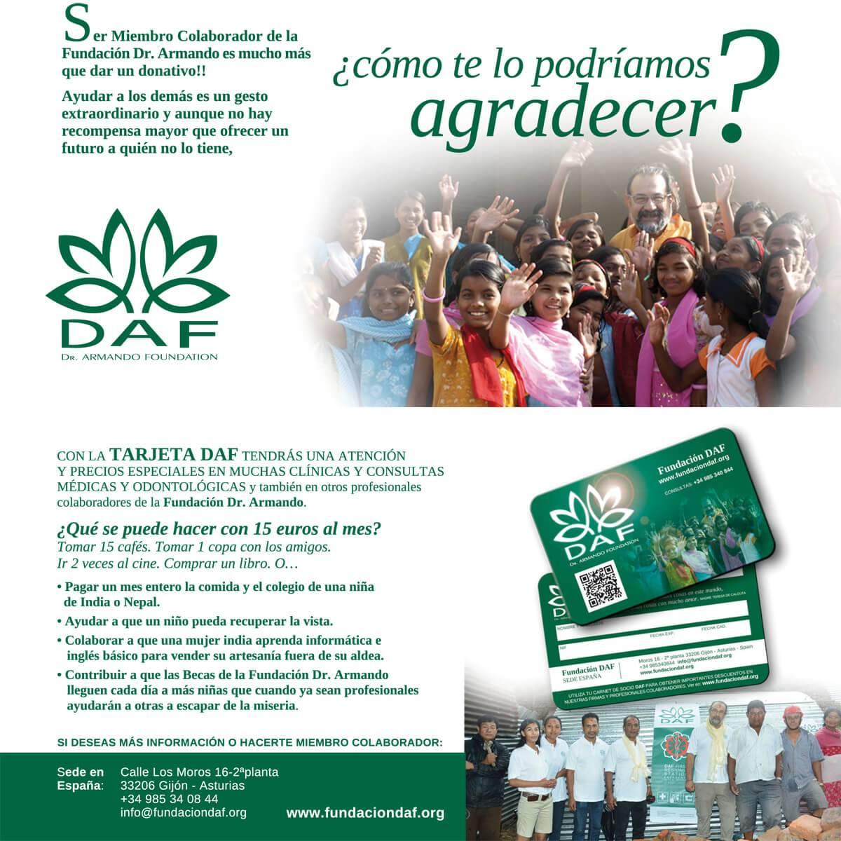 Informacióncarnet socio DAF