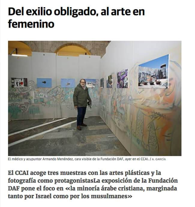 El Comercio, From forced exile to feminine art