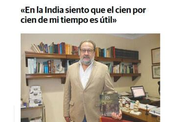 Armando Menéndez entrevistado por El Comercio
