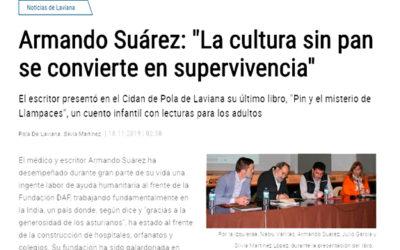 La Nueva España: Presentación en Laviana de «Pin y el misteriu de Llampaces»