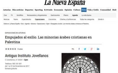 LA NUEVA ESPAÑA, OCIO: PUSHED INTO EXILE EXHIBITION