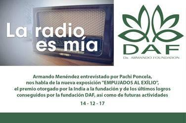 Armando Menéndez interviewed by Pachi Ponce