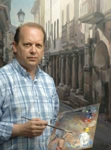 PINTORES ASTURIASNOS: Favila-pintando